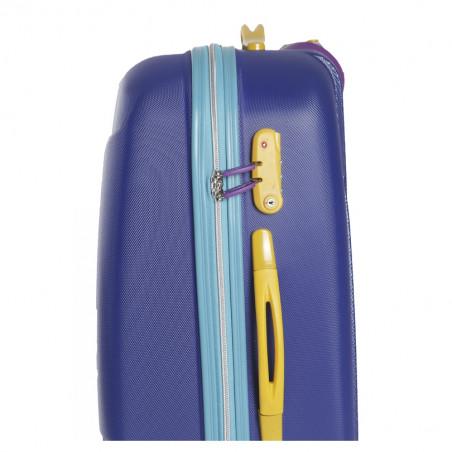 Decent Multy Handbagage Koffer 55cm Blauw