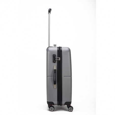 Decent Neon Fix Handbagage Koffer 55cm Zilver