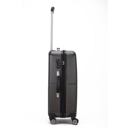 Decent Neon Fix Handbagage Koffer 55cm Antraciet