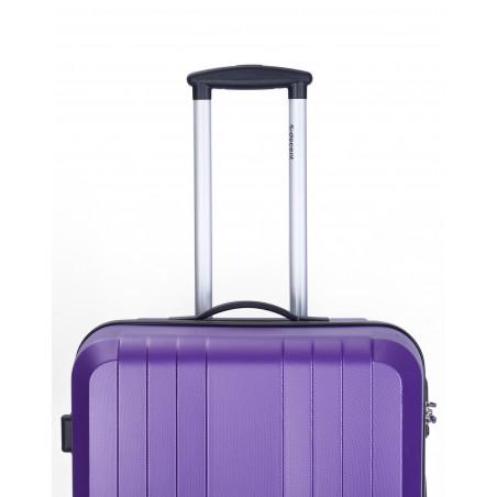 Decent Tobi-Line Handbagage Koffer 55cm Paars