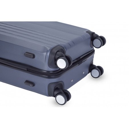 Decent Tobi-Line kofferset van 3 antraciet