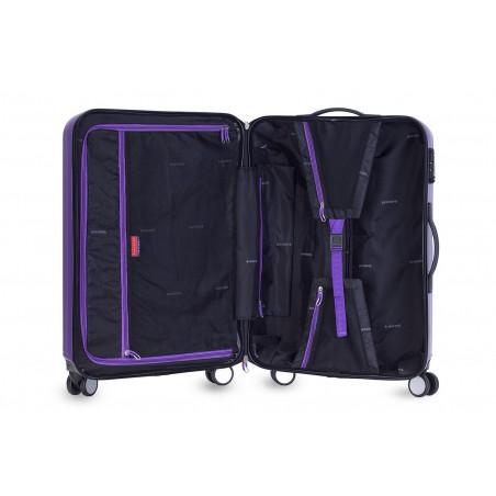Decent Tobi-Line kofferset van 2 paars