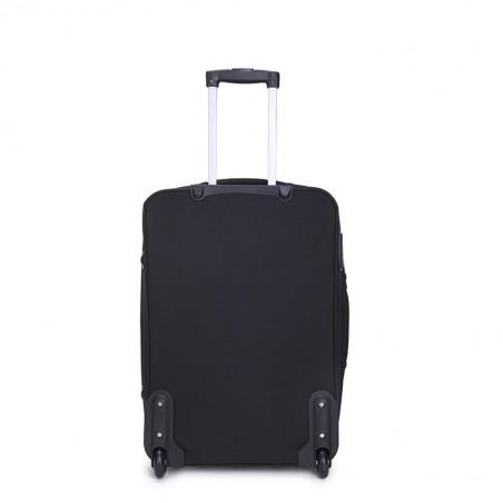 Decent Basic Line Handbagage Koffer 53cm Upright Zwart