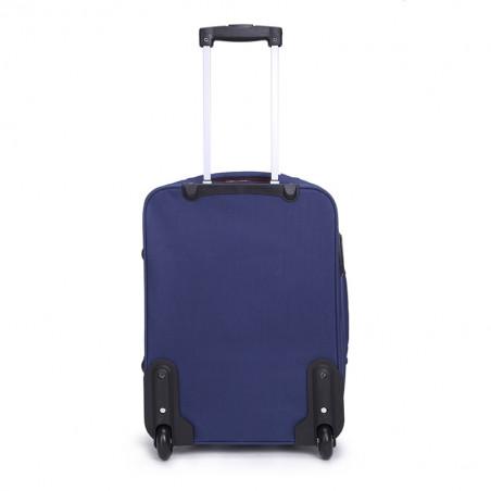 Decent Basic Line handbagage Koffer 53cm Upright Donkerblauw