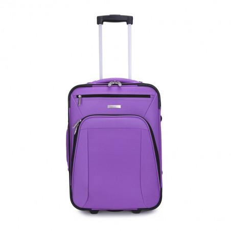 Decent Basic Line handbagage Koffer 53cm Upright Paars