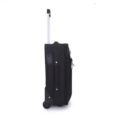 Decent Basic Line Koffer upright 63cm zwart