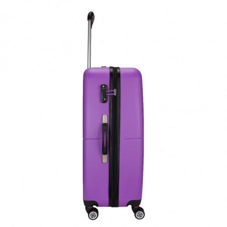 Decent Neon Fix Handbagage Koffer 55cm Paars
