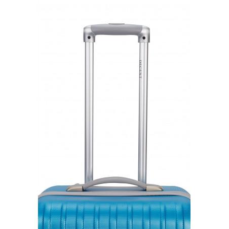 Decent Tranporto kofferset van 3 aqua blauw