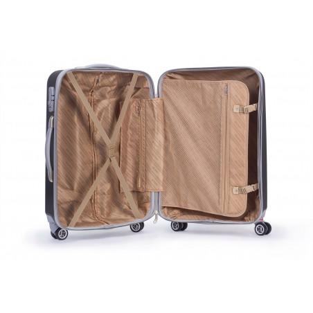 Decent Tranporto kofferset van 3 antraciet