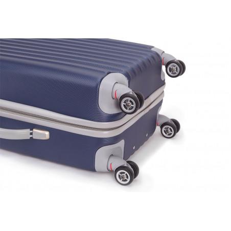 Decent Tranporto Spinner 66cm Donkerblauw