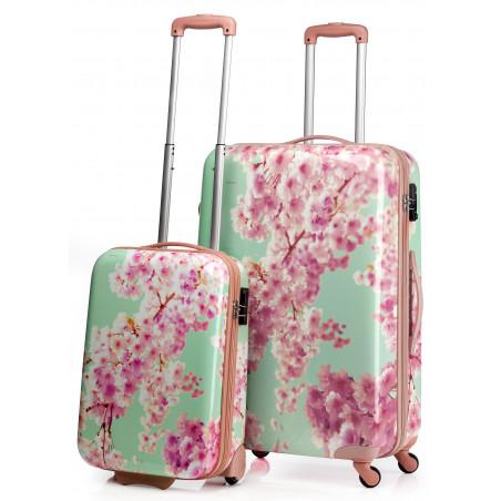 CarryOn Handbagage Trolley 55cm Blossom