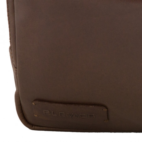 Plevier 271-3 Laptoptas 14'' Cognac