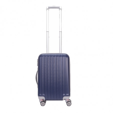 Decent Tranporto Handbagage Koffer 55cm Donkerblauw