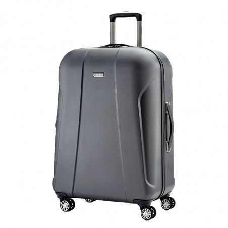 Travelite Elbe Two 4 Wiel Trolley 70cm Antraciet