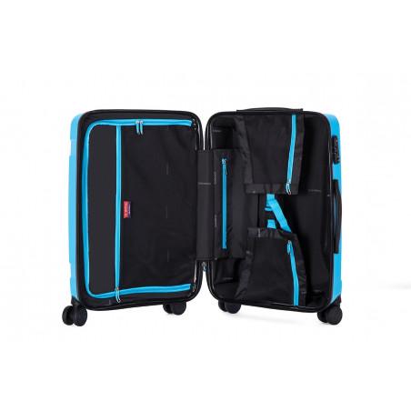 Decent X-Motion Handbagage Trolley 55cm Aqua Blauw