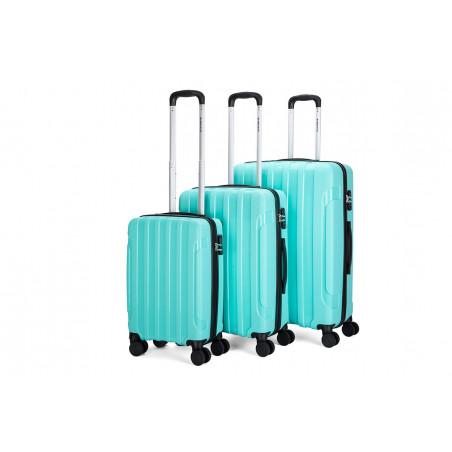 Decent X-Motion Handbagage Trolley 55cm Blauw/Groen