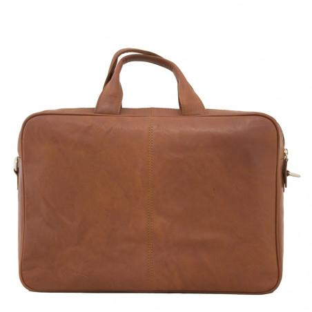 Plevier 604-3 Volnerf 10-15'' inch laptoptas cognac