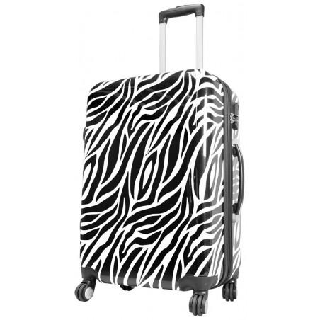 Spinner Zebra 67cm Wit