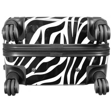 Spinner Zebra 57cm Wit