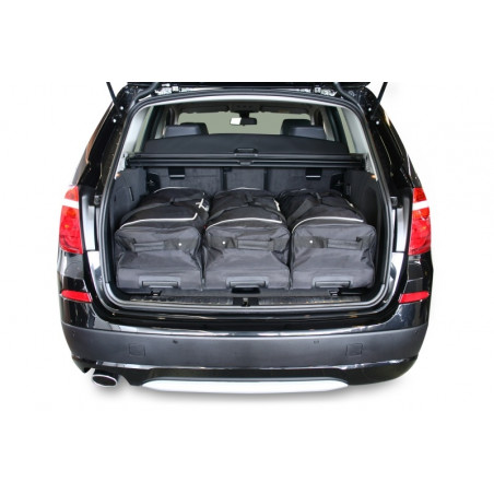 BMW X3 (F25) 2011- Car-Bags Reistassenset