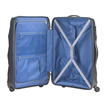 CarryOn Porter 2.0 Handbagage Koffer 55cm Zwart