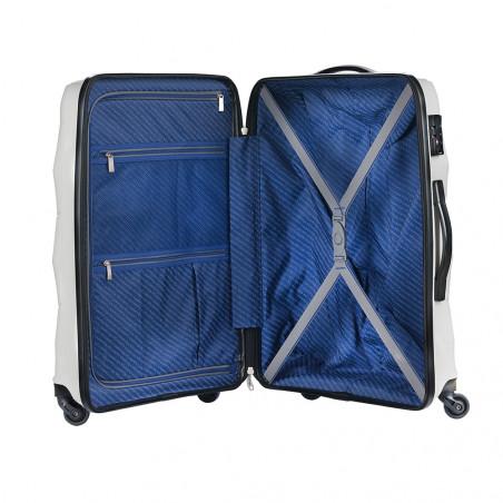 CarryOn Porter 2.0 Handbagage Koffer 55cm Ivoor Wit