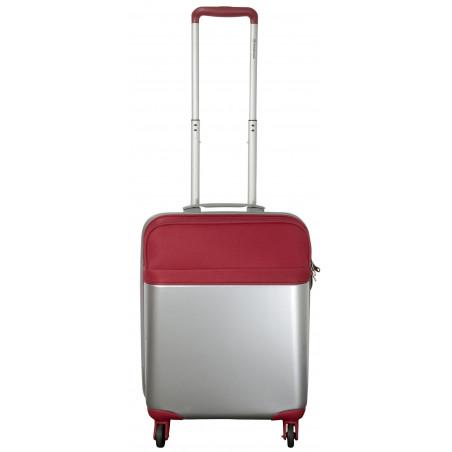 Portland Weekender Handbagage Trolley Rood Zilver