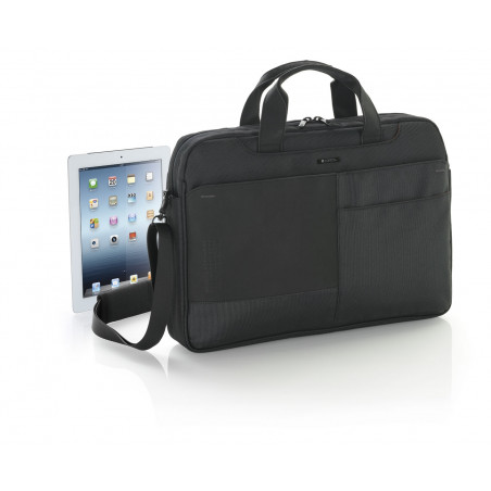 Gabol Industry Briefcase Zwart