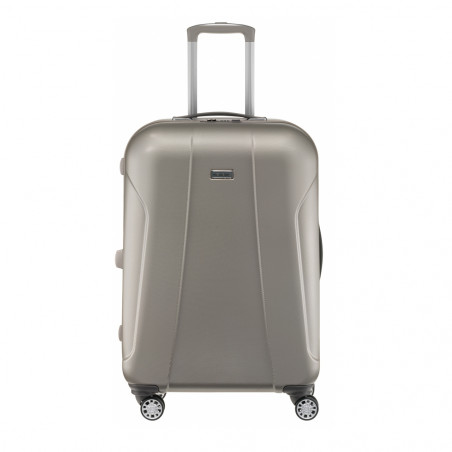Travelite Elbe Two 4 Wiel Trolley 70cm Beige