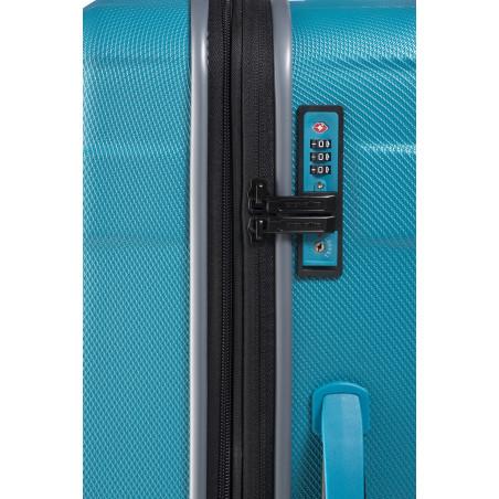 Travelite Vector 2 Wiel Handbagage Koffer 55cm Turquoise