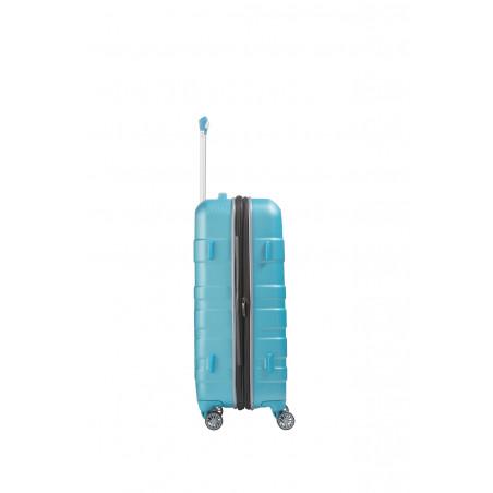 Travelite Vector 4 Wiel Trolley 70cm Turquoise