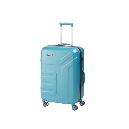 Travelite Vector 4 Wiel Trolley 70cm Turquoise