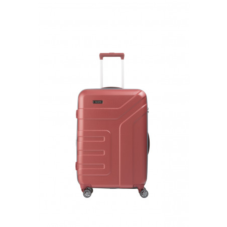 Travelite Vector 4 Wiel Trolley 70cm Coral