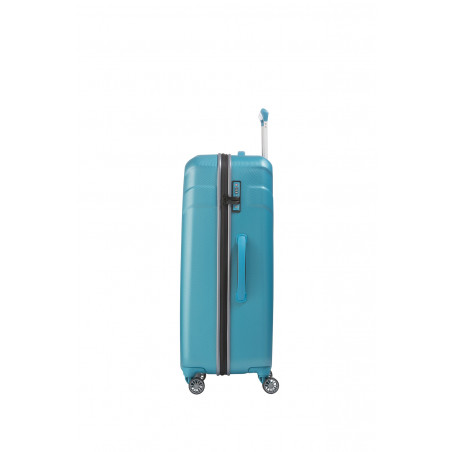Travelite Vector 4 Wiel Trolley 77cm Turquoise