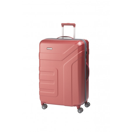 Travelite Vector 4 Wiel Trolley 77cm Coral