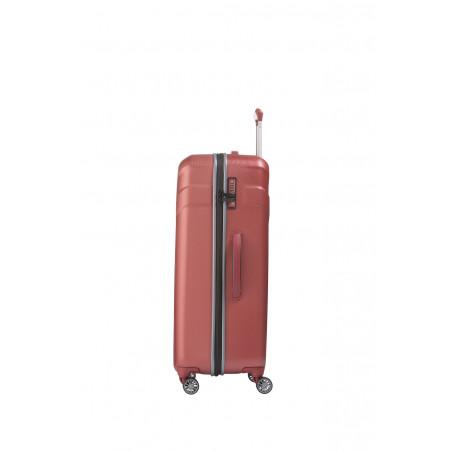 Travelite Vector 4 Wiel Trolley 77cm Coral
