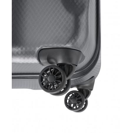 Titan Xenon Deluxe 4 Wiel Trolley 74cm Antraciet