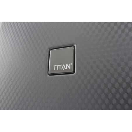Titan Xenon Deluxe 4 Wiel Trolley 67cm Champagne