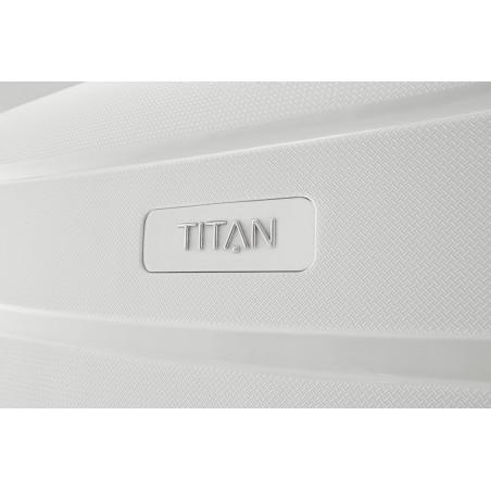Titan Limit 4 Wiel Trolley 68cm exp. Wit