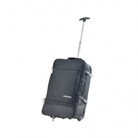 CarryOn Daily Handbagage Trolley Rugzak Zwart