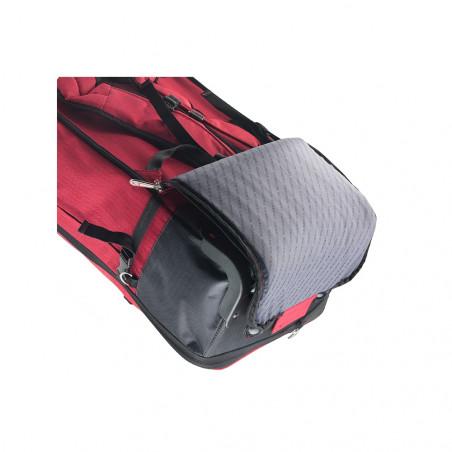 CarryOn Daily Handbagage Trolley Rugzak Rood
