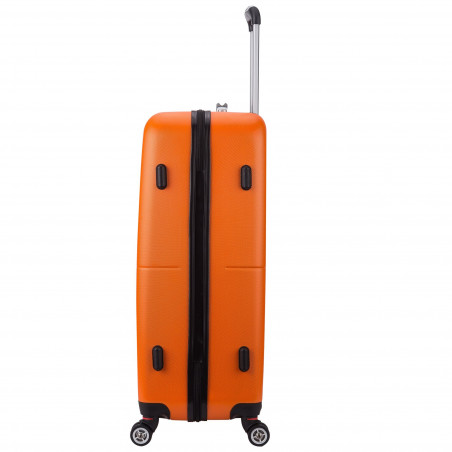 Decent Neon Fix spinner kofferset van 3 oranje