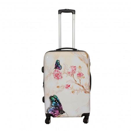 Koffer 67 cm Vlinder II