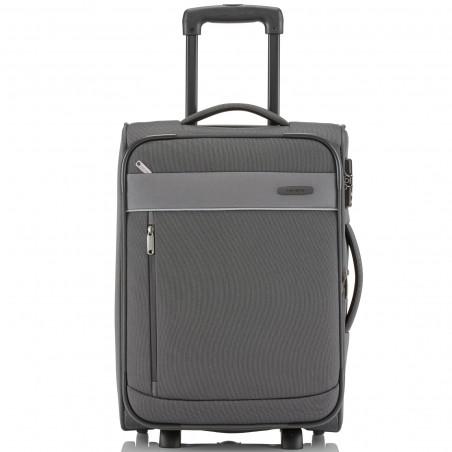 Travelite Delta Handbagage Koffer 2 wiel Expendable 52cm Grijs