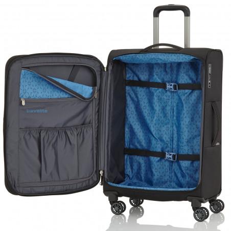 Travelite Capri Handbagage Koffer 55cm Zwart