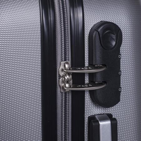 Itaca Koffer Medium 63cm Zilver