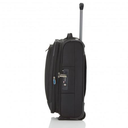 Travelite Crosslite 2 Wiel Handbagage Koffer 54cm Zwart
