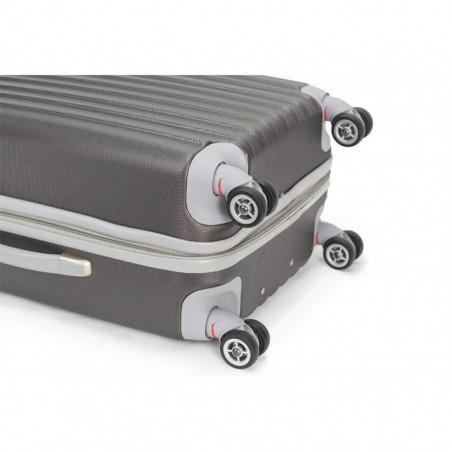 Decent Tranporto Handbagage Koffer 55cm Anthraciet