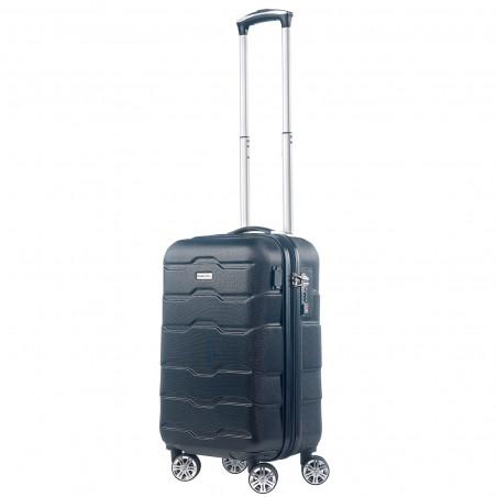 CarryOn Transfer Handbagage Koffer 55cm Zwart