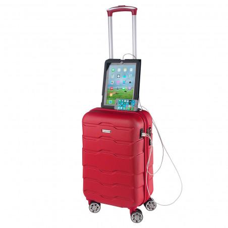 CarryOn Transfer Handbagage Koffer 55cm Rood
